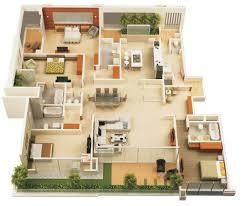 2 Bedroom House Floor Plans Open Floor Plan by Wonderful 2 Bedroom House Plans Open Floor Plan Images Design