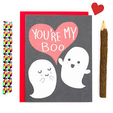 Cute Valentine Meme - cute anniversary card youre my boo ghost love card funny