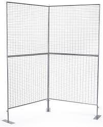 2 panel room divider 2 panel art show display v shaped design