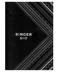 singer 6110 user manual 41 pages
