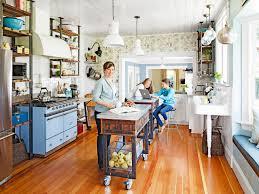 kitchen fabulous metal kitchen island narrow kitchen island