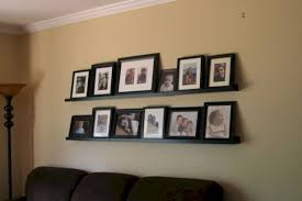 ikea ribba ledge 15 ways to use ikea ribba picture ledges in all over the house
