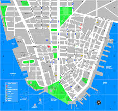 New York Tourist Attractions Map by Download Downtown New York Map Major Tourist Attractions Maps