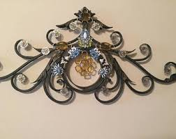 Iron Wrought Wall Decor Wrought Iron Wall Art Etsy
