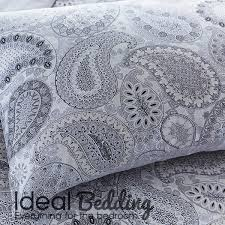 Gray Paisley Duvet Cover Paisley Duvet Cover Set Bedding Small Double King Size Official