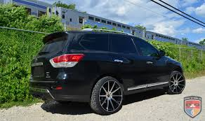 pathfinder nissan black nissan pathfinder mod black machined gwg wheels