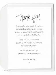 wedding gift thank you wording thank you cards lovely thank you card wording for wedding gifts