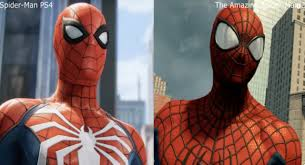 spider man for playstation gets a comparison video with the