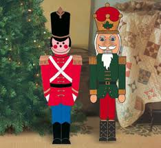 Nutcracker Christmas Decorations Outdoor by Free Patterns For Outside Decorations Make Colorful Holiday