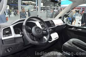 volkswagen multivan interior vw multivan panamericana dashboard at the iaa 2015 indian autos blog