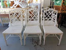 chinese chippendale chairs 6 faux bamboo chinese chippendale chairs circa who