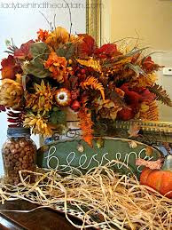 Autumn Table Decorations Buffet Tables Decorated For Fall