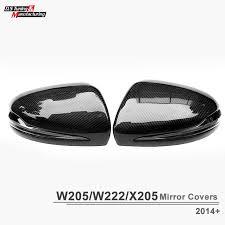 mercedes c class wing mirror aliexpress com buy 2015 2016 mercedes c class w205 carbon fiber