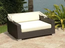 resin wicker outdoor daybed sofa centerfieldbar com