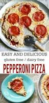 pepperoni pizza gluten free dairy free and egg free the