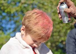 ayso u 8 boys paint hair pink the daily item