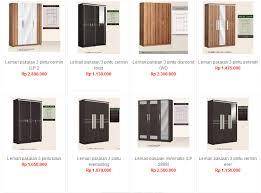 Cermin Di Informa service furniture tangerang estimasi model dan harga lemari kayu