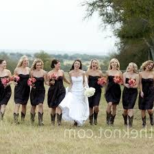 bridesmaid dresses with cowboy boots black bridesmaid dress with cowboy boots screenings