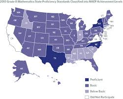 Dc State Map by Naep Studies Mapping State Proficiency Standards Onto Naep