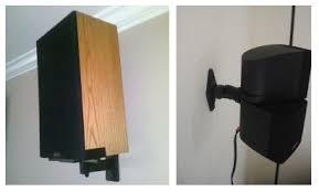 Speaker Wall Mounts How To Safely Install Speaker Mounts Brackets Studiopsis