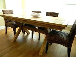 Bench Style Dining Table Sets House Farm Style Dining Room Table Diy Farmhouse Tables For Sale