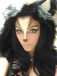 Makeup Ideas For Halloween Costumes by Skunk Makeup Makeup Ideas Pinterest Makeup Costumes And