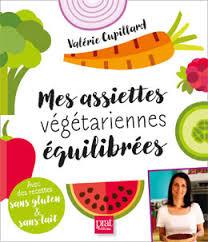 livre cuisine bio recettes végétariennes équilibrées saines et sans gluten