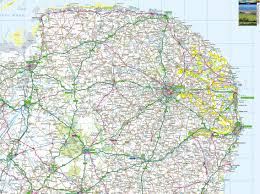 Offline Map Norfolk Offline Map Including North Norfolk Coast Norfolk Broads