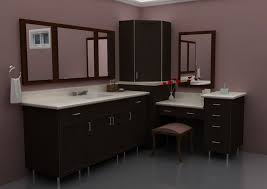 bathroom design trends 2013 bathroom modern corner bathroom makeup vanity with large framed