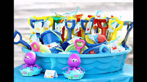 kids pool party ideas decorations at home youtube