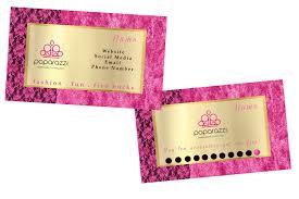 paparazzi marketing kit branding loyalty card business
