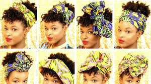 short wraps hairstyle 12 ways to style head wraps and hats on short natural hair how