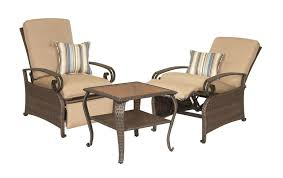 Patio Recliners Chairs Lake Como Patio Recliner Khaki Tan U2013 La Z Boy Outdoor
