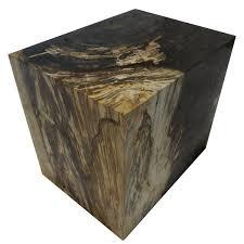 Petrified Wood Bench Polished Round Petrified Wood Stool U2013 Organic Findings