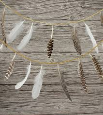 feather party garland home decor lighting wonderful feather party garland for celebrations of the highest order unfurl this feather gar