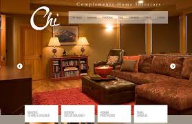 complements home interiors fresh web design created by bend oregon web agency designer