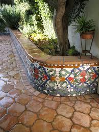 home decor beautiful backyard in spanish more beautiful tile