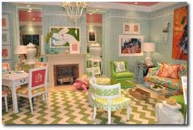 white palm beach furniture looks from designer lilly pulitzer