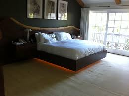 platform bed with led lights platform bed with lights white bed