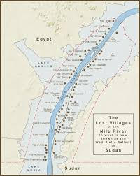 Nile River On Map A Map Of The Lost Villages Of The Nile River In What Is No U2026 Flickr