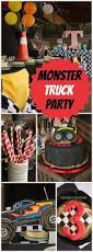 monster truck jam party supplies 75 best boy u0027s monster truck party images on pinterest monster