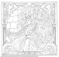 100 game thrones coloring pages images