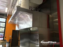 8 u0027 type 1 commercial kitchen hood and fan system