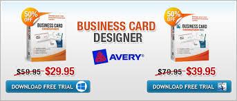Free Business Card Maker Download Download Business Card Software To Design Business Cards
