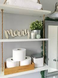 guest bathroom holiday refresh u0026 diy bath accessory makeover