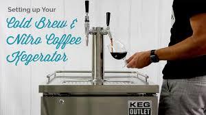 Kegregator Setting Up Your Cold Brew U0026 Nitro Coffee Kegerator Youtube
