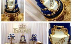 blue and gold baby shower decorations baby shower rental halls picture banquet pembroke pines