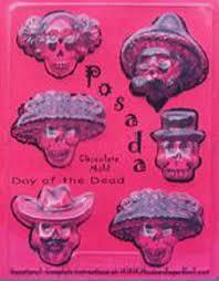sugar skull molds halloweentown store posada dia de los muertos chocolate or