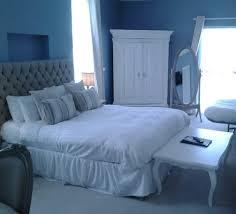 Blaues Schlafzimmer Ideen Landhausstil Schlafzimmer Blau Dekoration Inspiration