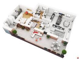 6 Bedroom Floor Plans 25 More 2 Bedroom 3d Floor Plans Amazing Architecture Magazine